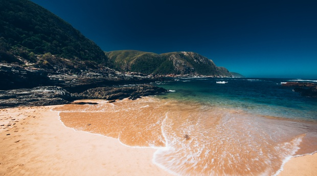 Garden Route, South Africa in the Eastern Cape in Storms River Tsitsikamma National Park