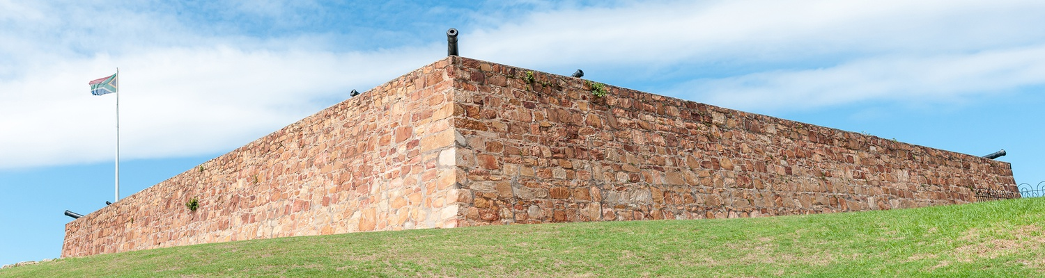 Fort Frederick in Port Elizabeth, South Africa, was built in 1799 to prevent French from conquering the Cape Colony during the Napoleonic wars and played a vital role in establishing British rule in South Africa