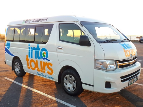 Into Tours Minibus vehicle Addo Elephant National Park Day Tours Port Elizabeth