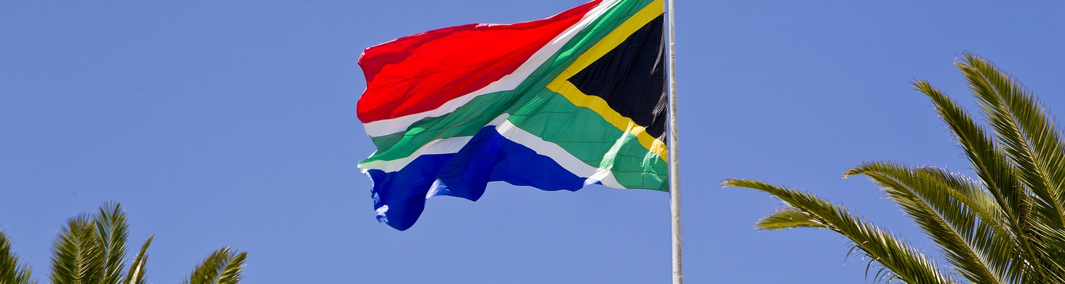 Biggest flag in South Africa